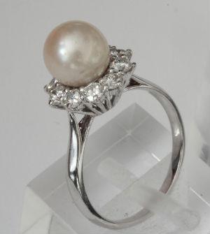 bague perle - bijouterie saint brieuc - reparation bijoux saint brieuc